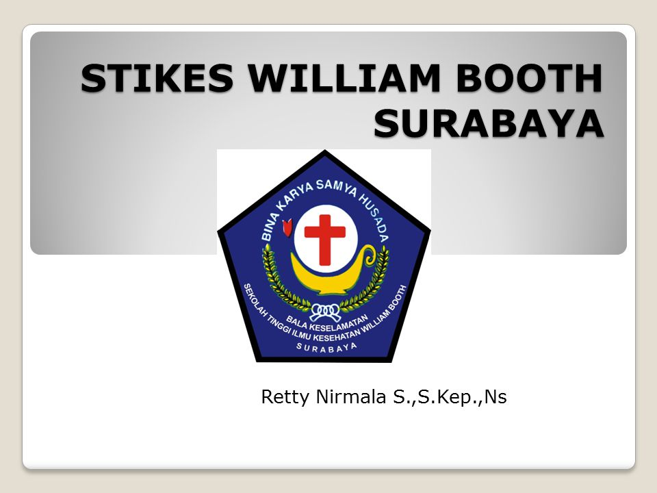 STIKES WILLIAM BOOTH SURABAYA
