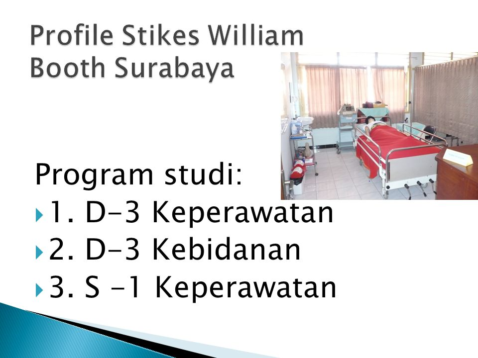Profile Stikes William Booth Surabaya