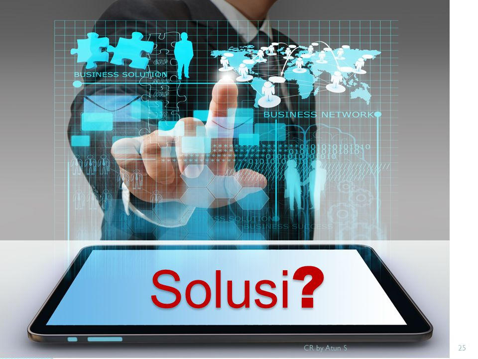 Solusi CR by Atun S