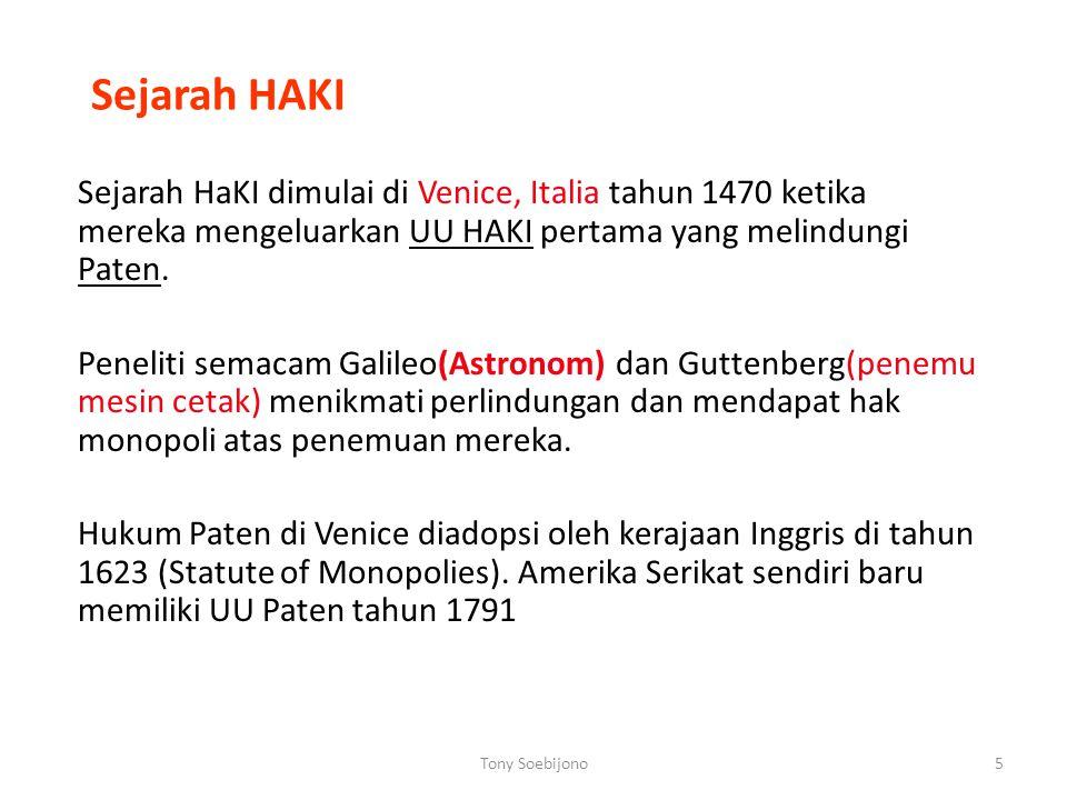 Sejarah HAKI