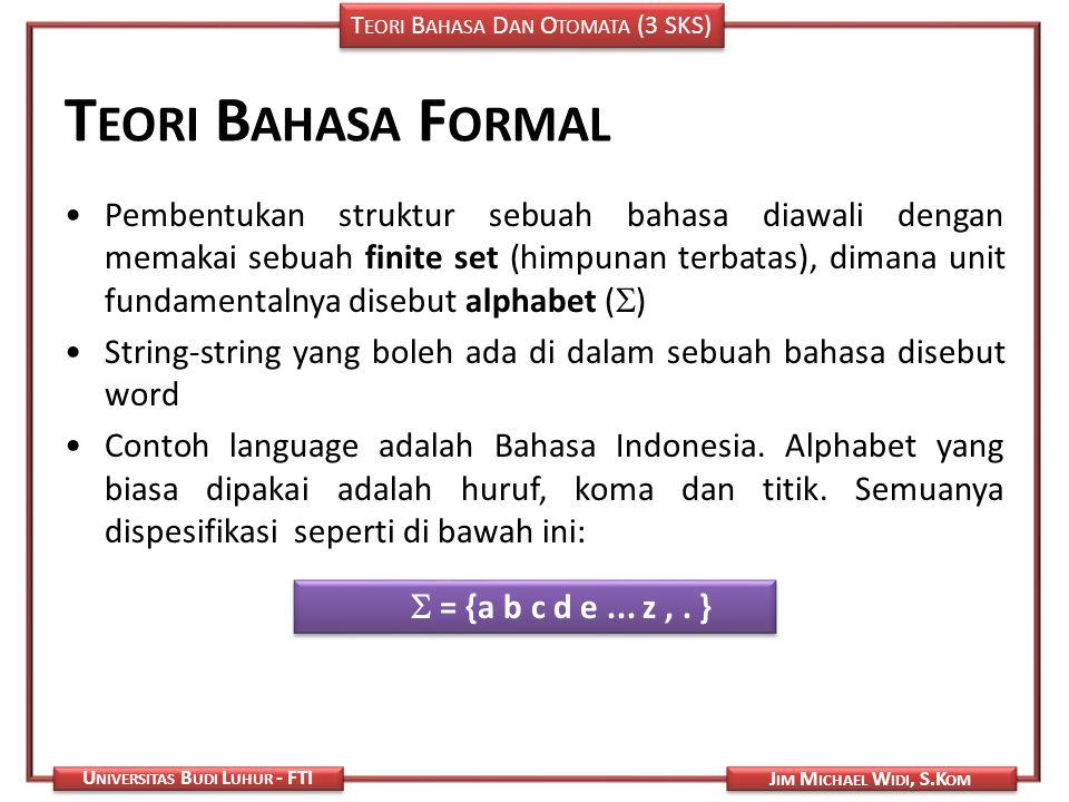 Teori Bahasa Formal