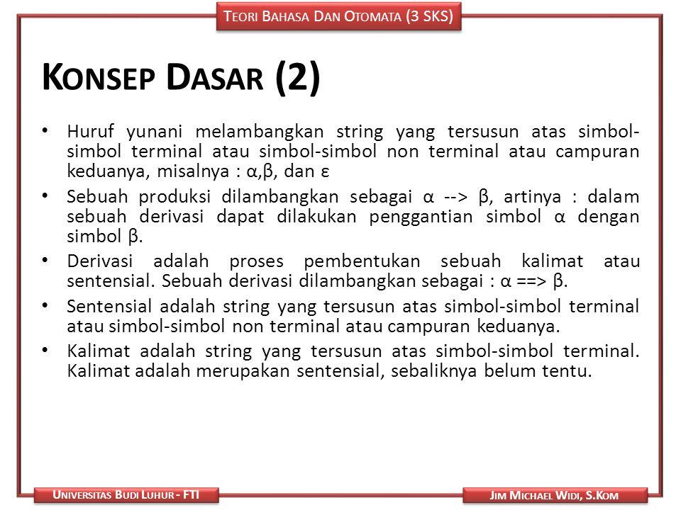 Konsep Dasar (2)