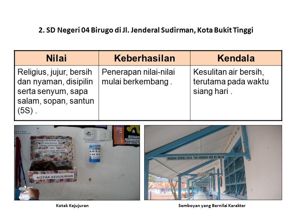 2. SD Negeri 04 Birugo di Jl. Jenderal Sudirman, Kota Bukit Tinggi