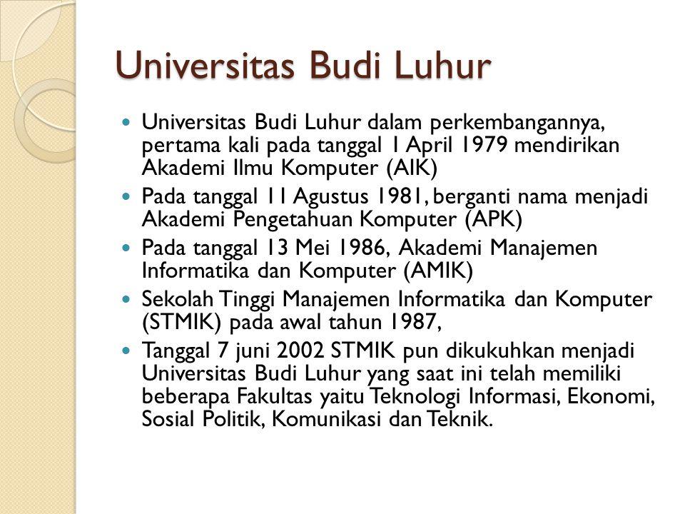Universitas Budi Luhur