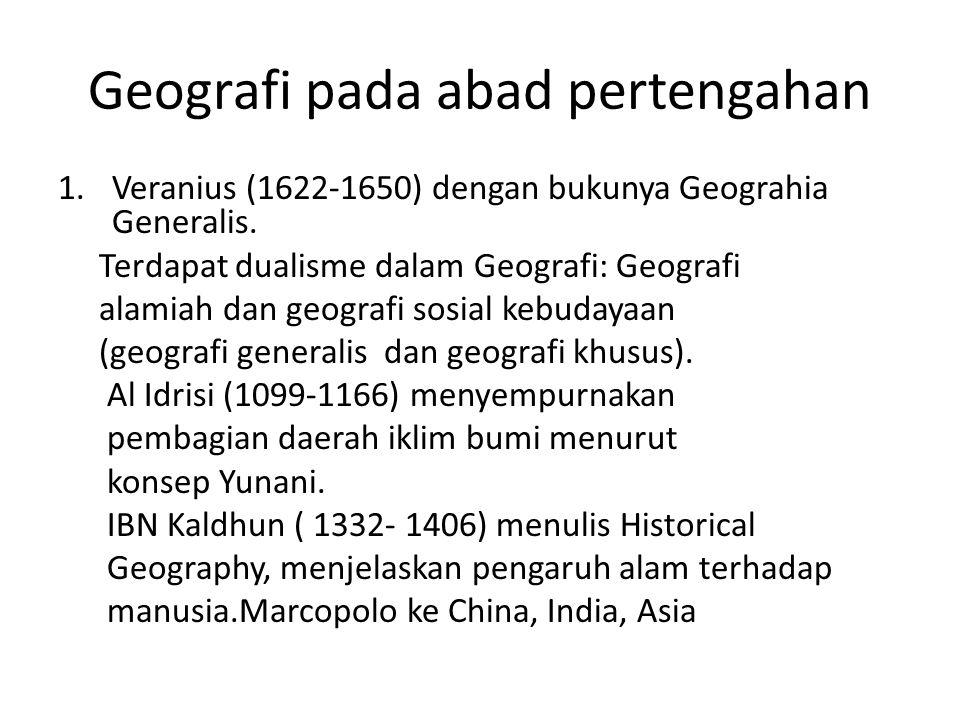 Geografi pada abad pertengahan
