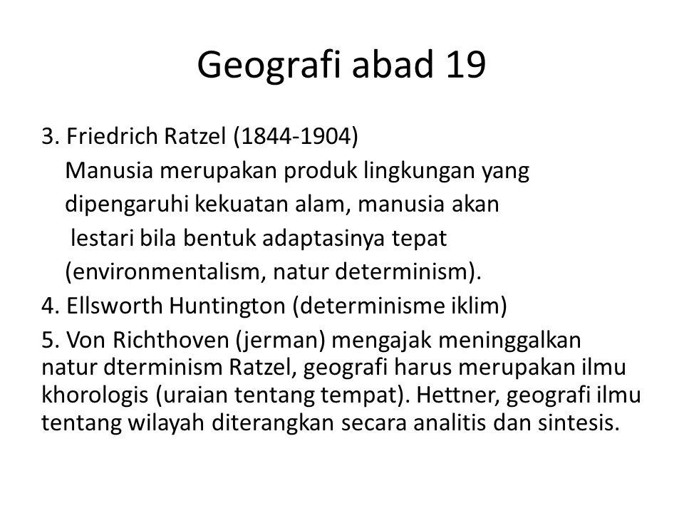 Geografi abad 19