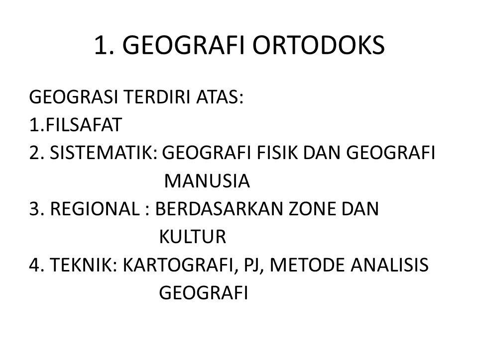 1. GEOGRAFI ORTODOKS