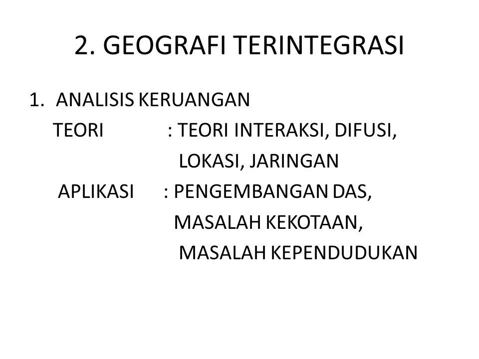 2. GEOGRAFI TERINTEGRASI