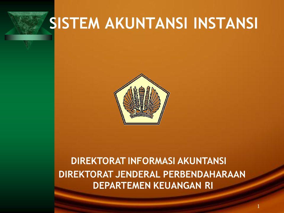SISTEM AKUNTANSI INSTANSI