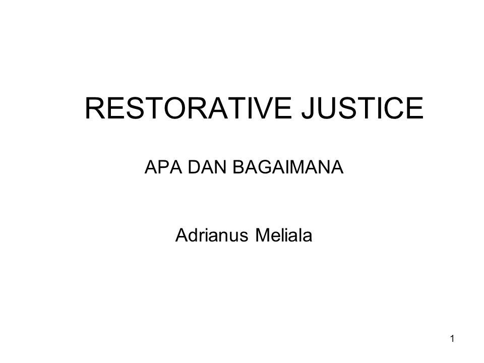 APA DAN BAGAIMANA Adrianus Meliala
