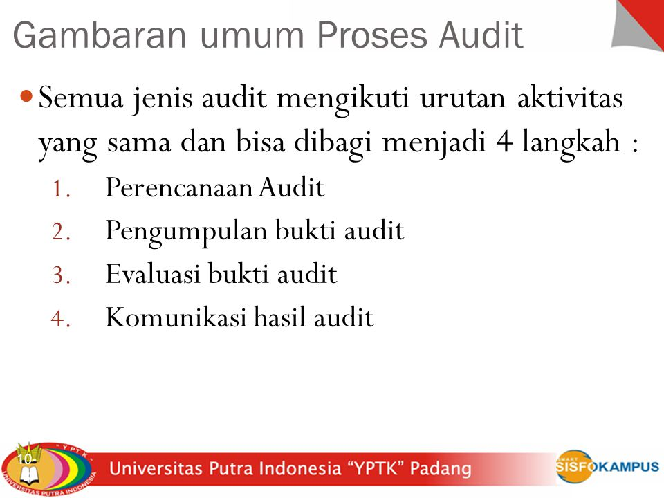 Gambaran umum Proses Audit