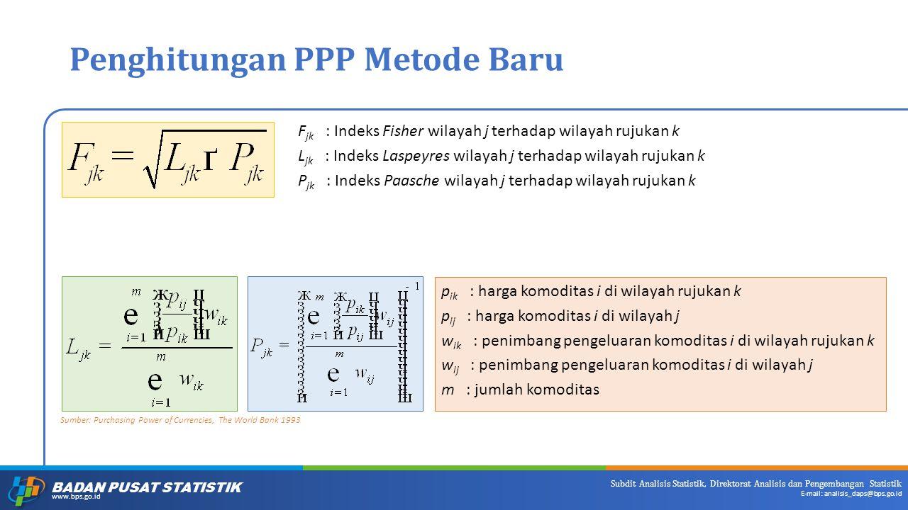 Penghitungan PPP Metode Baru