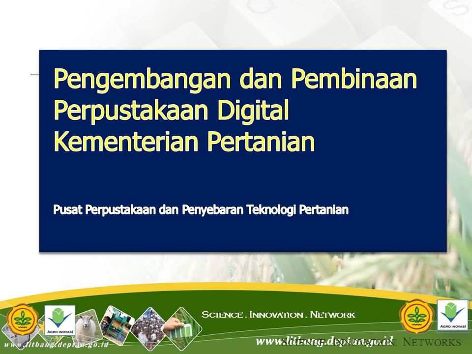 Pengembangan dan Pembinaan Perpustakaan Digital Kementerian Pertanian