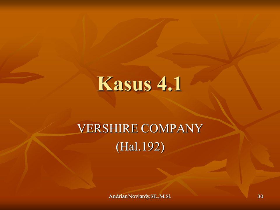VERSHIRE COMPANY (Hal.192)