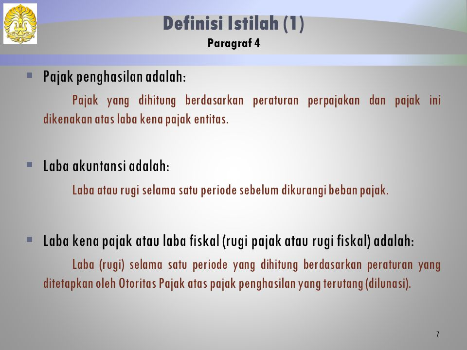 Definisi Istilah (1) Paragraf 4