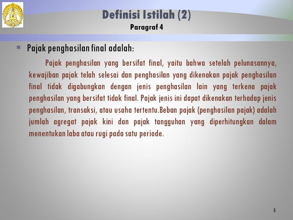 Definisi Istilah (2) Paragraf 4