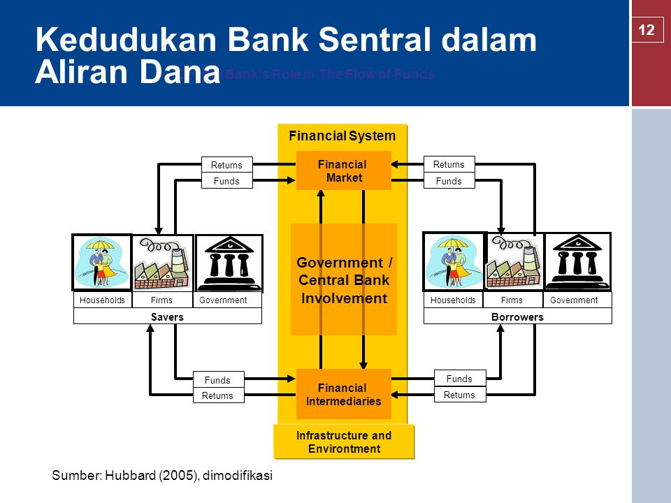 Central Bank's Role in The Flow of Funds
