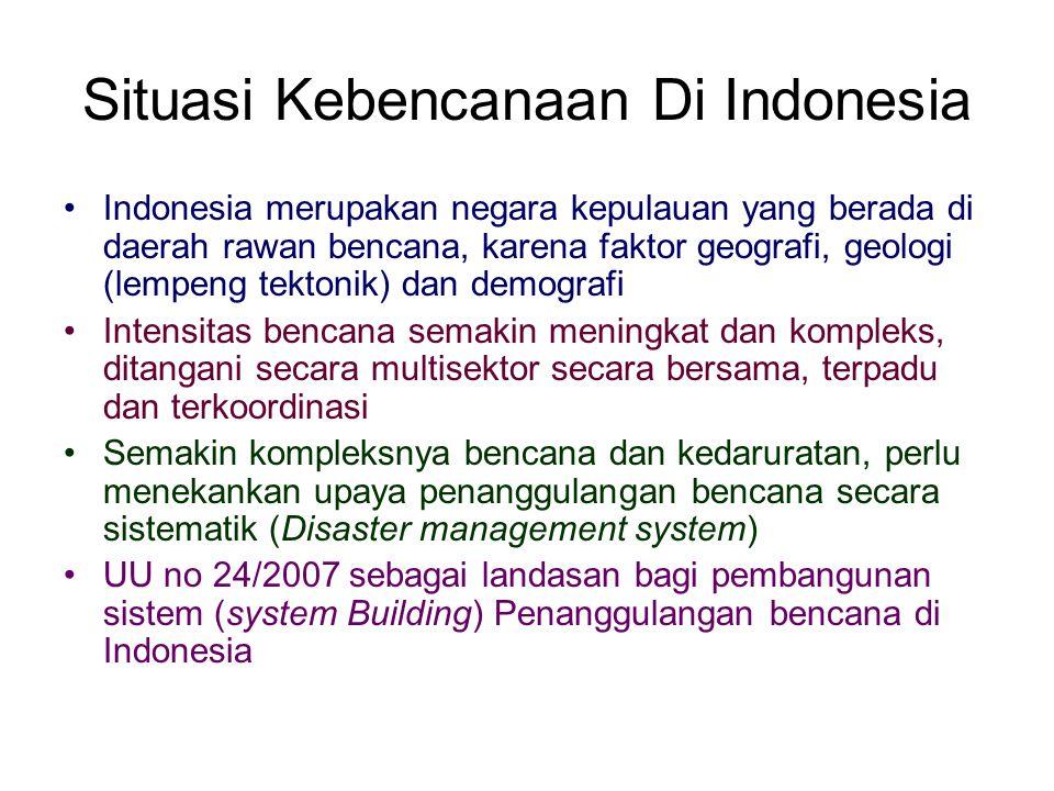 Situasi Kebencanaan Di Indonesia