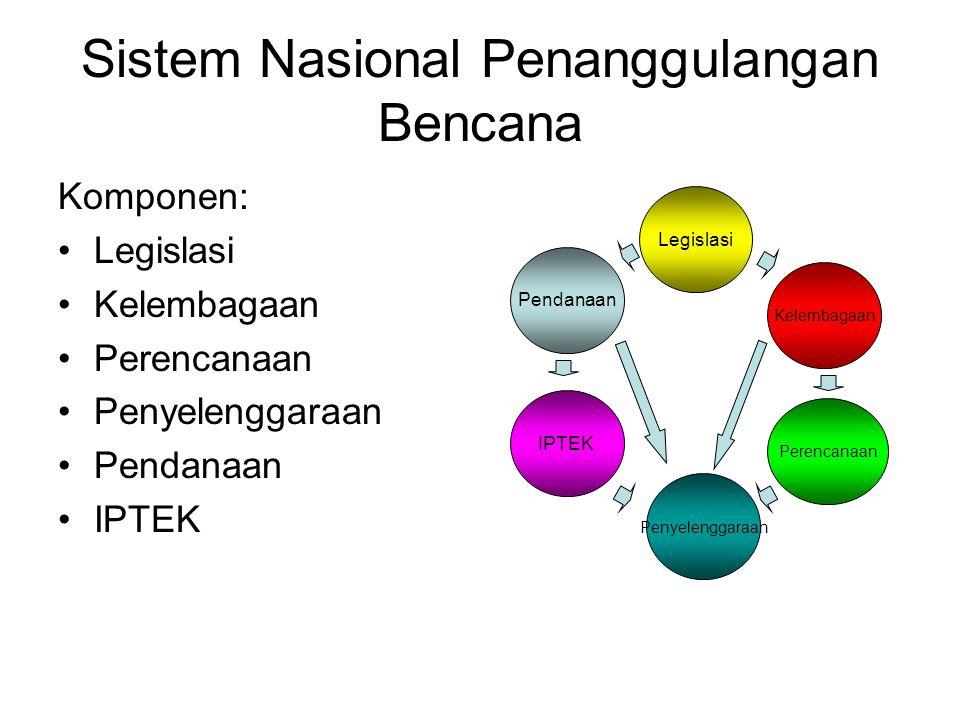 Sistem Nasional Penanggulangan Bencana