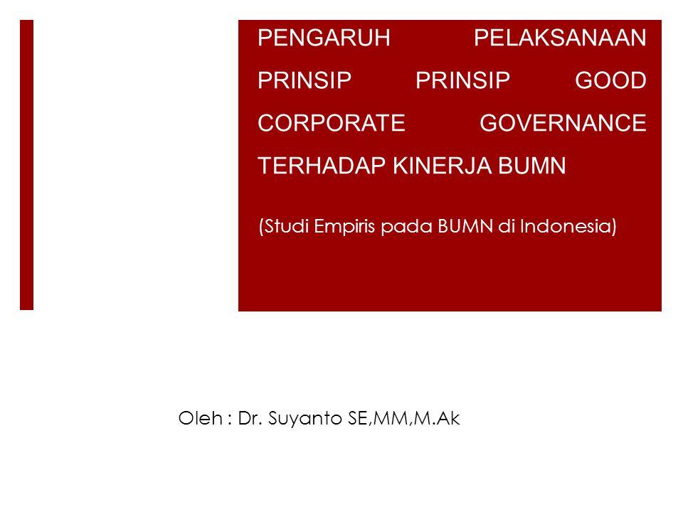 (Studi Empiris pada BUMN di Indonesia)