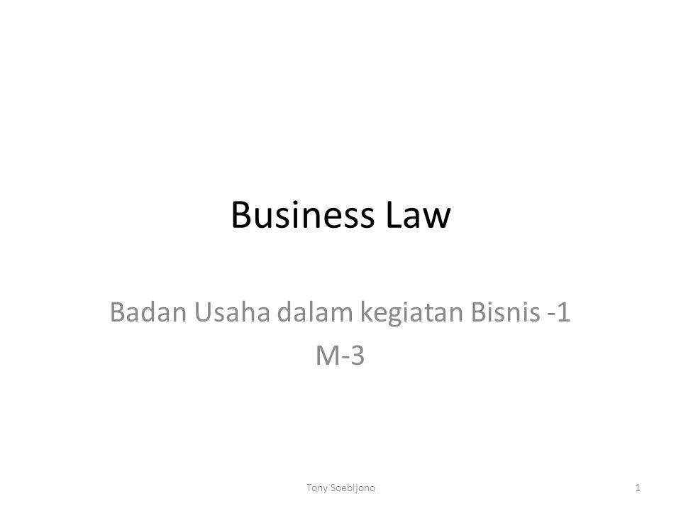Badan Usaha dalam kegiatan Bisnis -1 M-3