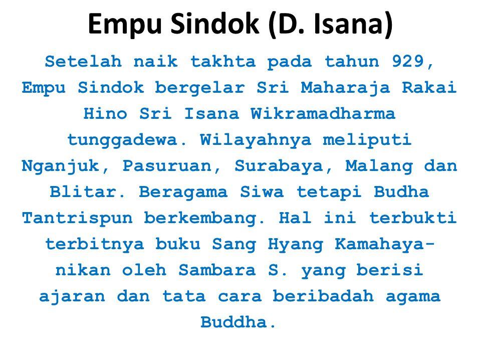 Empu Sindok (D. Isana)