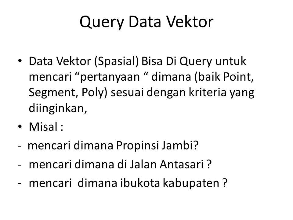 Query Data Vektor