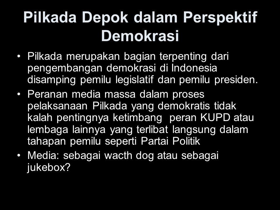 Pilkada Depok dalam Perspektif Demokrasi