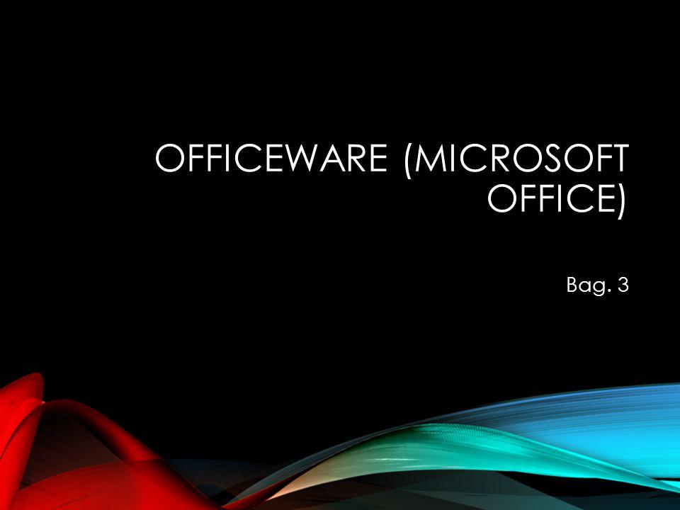 Officeware (Microsoft Office)