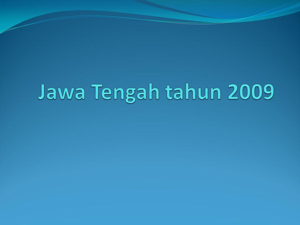 Jawa Tengah tahun 2009