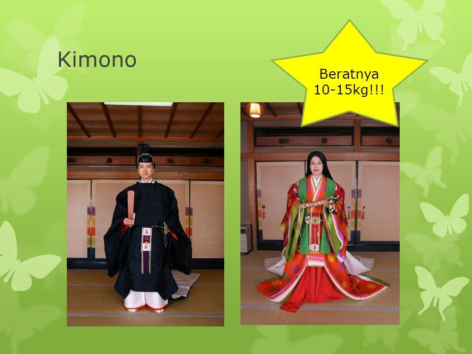 Beratnya 10-15kg!!! Kimono