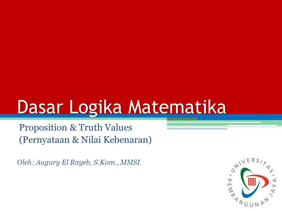 Dasar Logika Matematika
