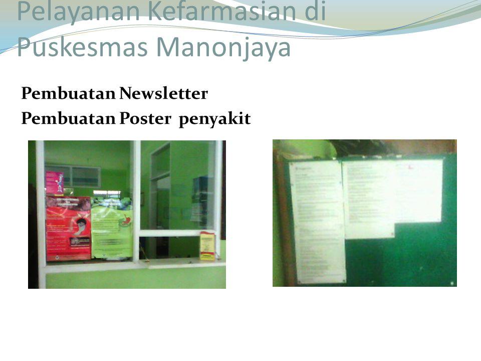Pelayanan Kefarmasian di Puskesmas Manonjaya