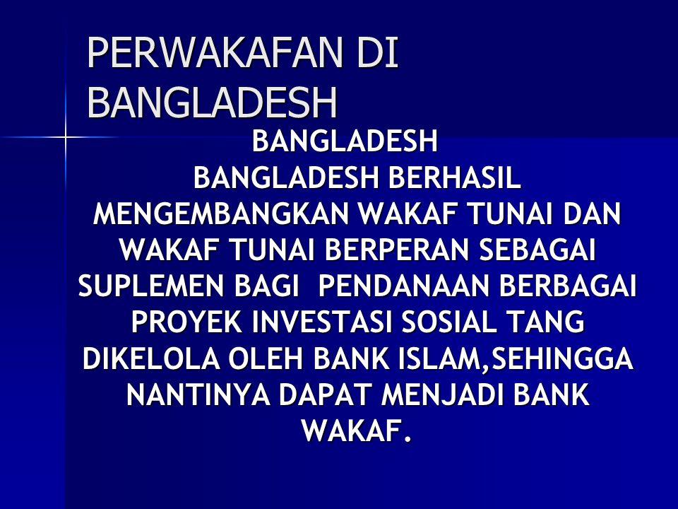 PERWAKAFAN DI BANGLADESH