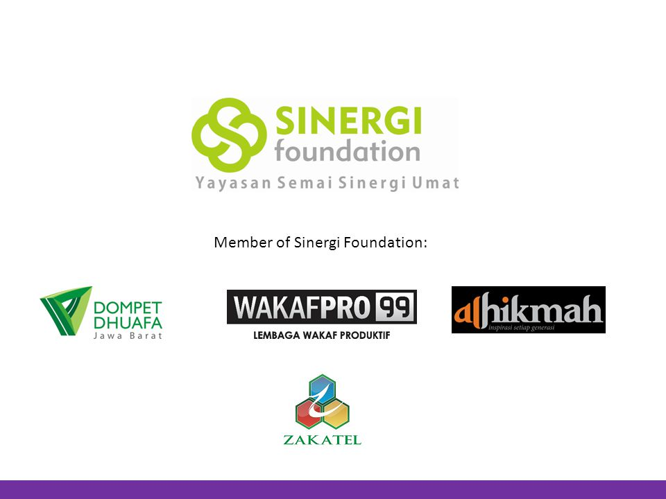 Member of Sinergi Foundation: