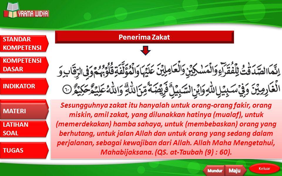 Penerima Zakat