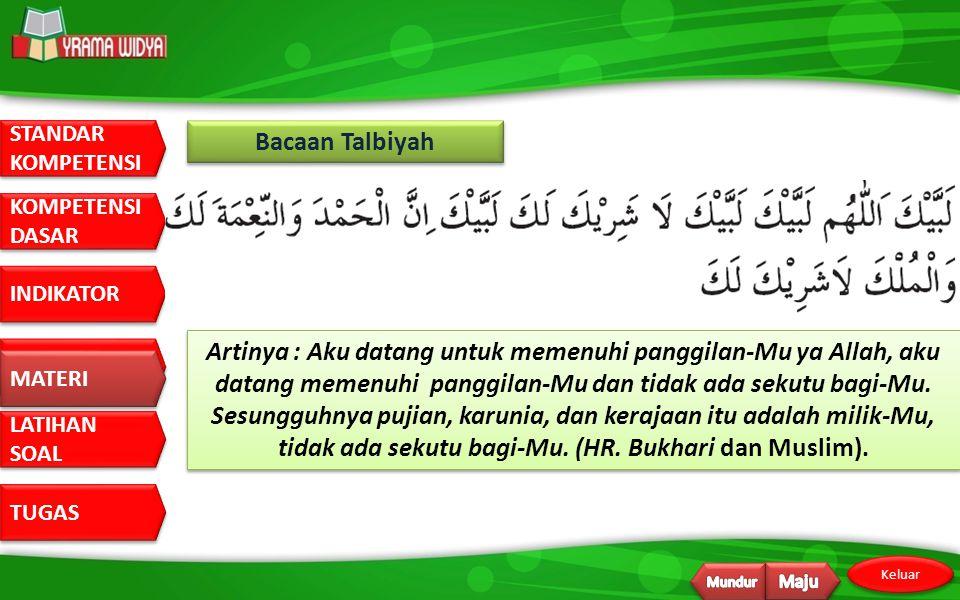 Bacaan Talbiyah