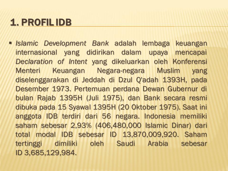 1. Profil IDB