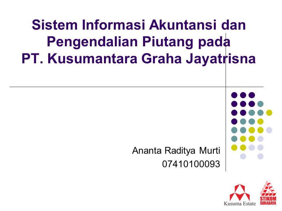 Sistem Informasi Akuntansi dan Pengendalian Piutang pada PT