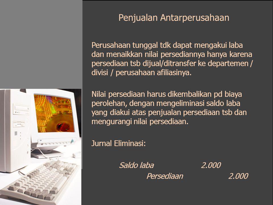 Penjualan Antarperusahaan