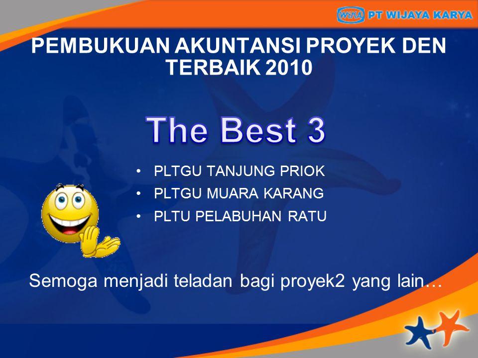 PEMBUKUAN AKUNTANSI PROYEK DEN TERBAIK 2010