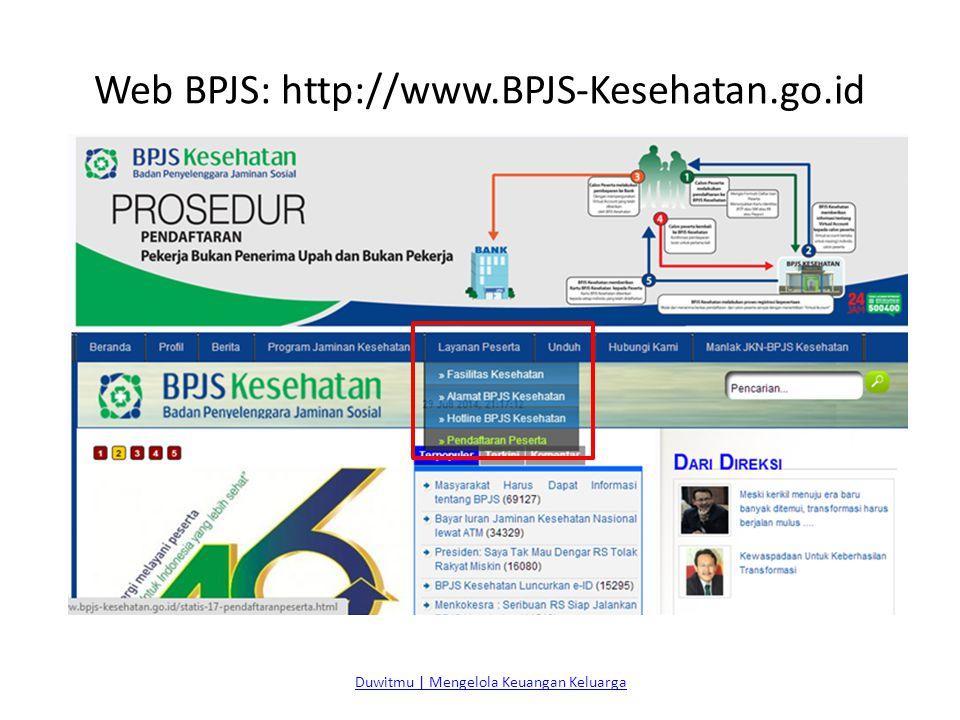 Web BPJS: http://www.BPJS-Kesehatan.go.id