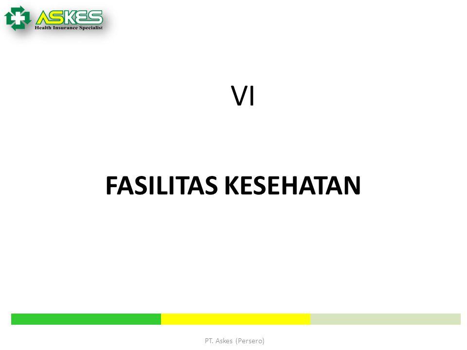 VI FASILITAS KESEHATAN PT. Askes (Persero) PT Askes (Persero)