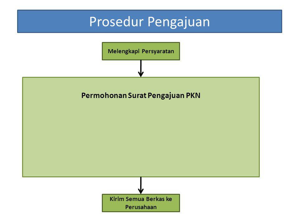 Prosedur Pengajuan Permohonan Surat Pengajuan PKN