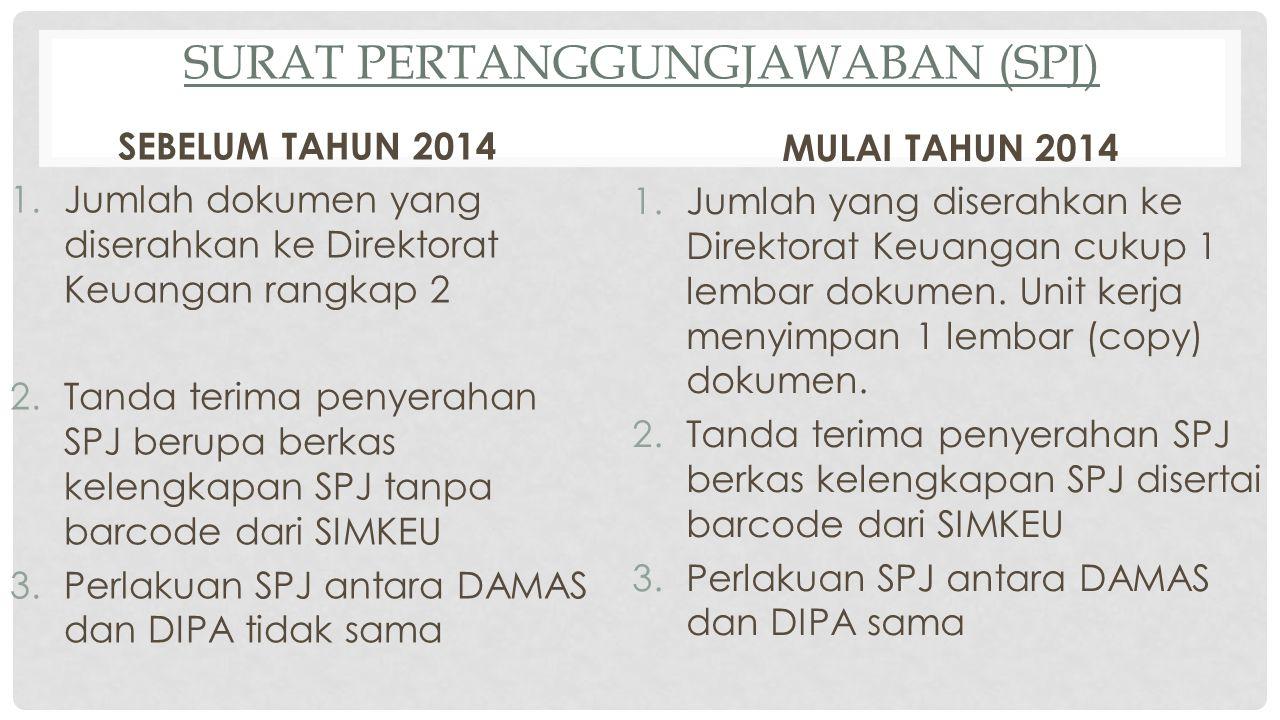 Surat Pertanggungjawaban (SPJ)