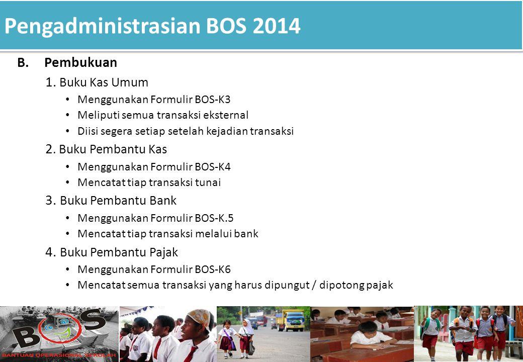 Pengadministrasian BOS 2014