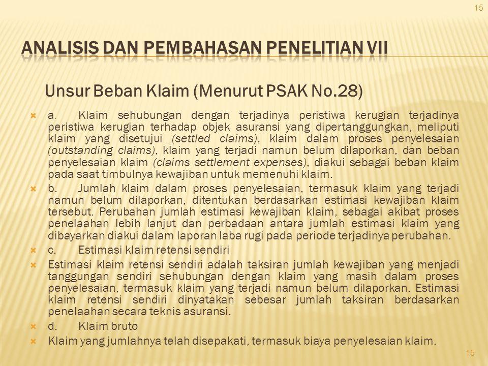 ANALISIS DAN PEMBAHASAN PENELITIAN VII