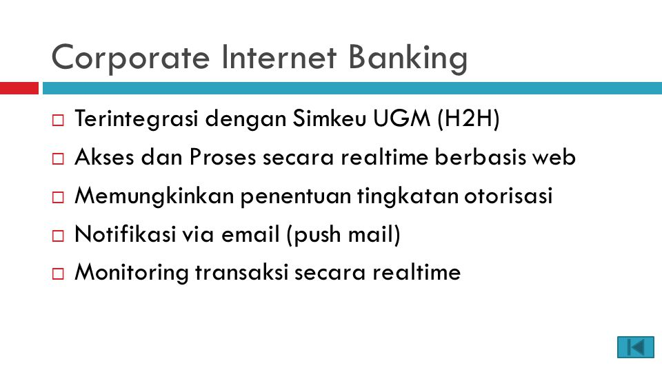 Corporate Internet Banking