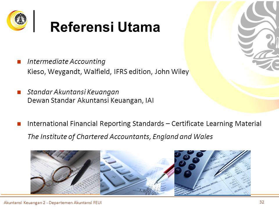 Referensi Utama Intermediate Accounting