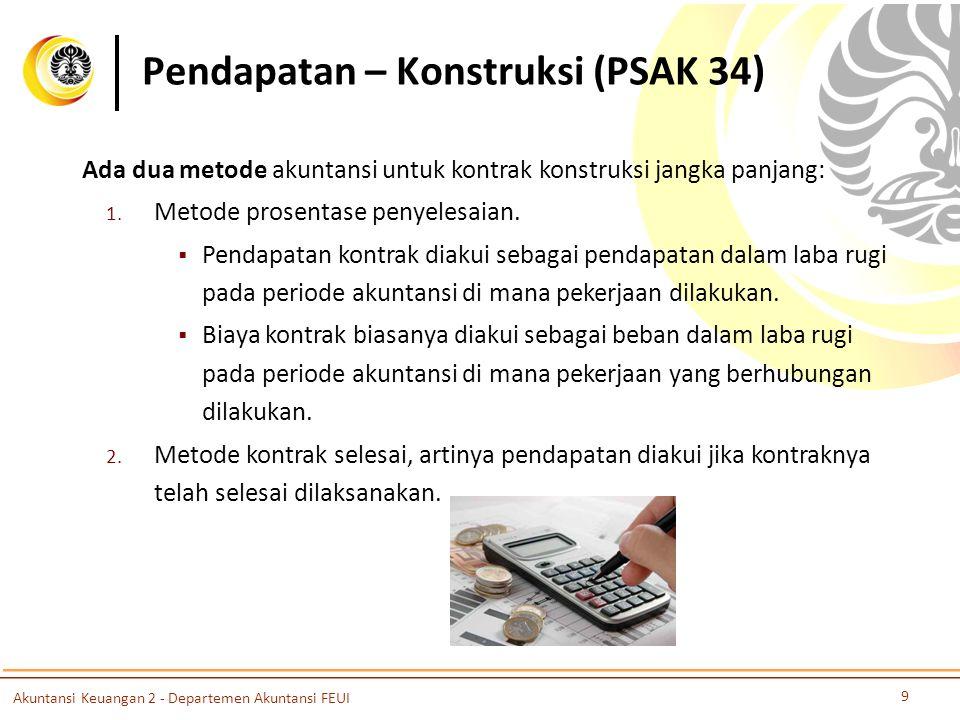 Pendapatan – Konstruksi (PSAK 34)